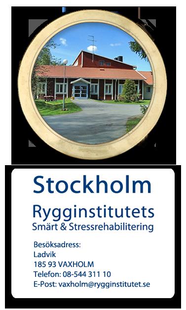 Ryggspecialist i stockholm | Rygginstitutet