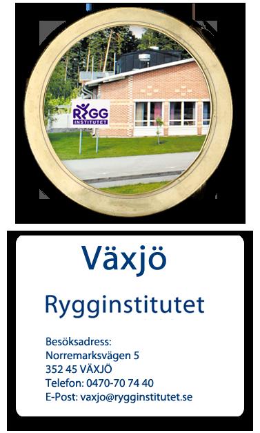 Ryggkliniken I Växjö | Rygginstitutet